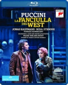 Puccini プッチーニ / 『西部の娘』全曲 マレッリ演出、ヴェルザー=メスト&ウィーン国立歌劇場、ステンメ、カウフマン、他(2013 ステレオ) 【BLU-RAY DISC】