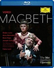 Verdi ベルディ / 『マクベス』全曲 ノーブル演出、ルイージ&メトロポリタン歌劇場、ネトレプコ、ルチッチ、他(2014 ステレオ) 【BLU-RAY DISC】