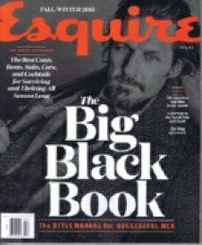 【送料無料】 Esquire Black Book (Us)(F-w#54) 2015 / Magazine (Import) 【雑誌】