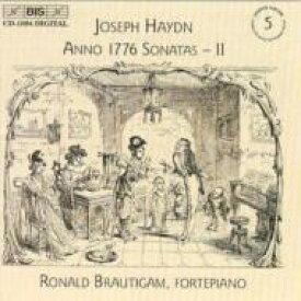 【送料無料】 Haydn ハイドン / Complete Piano Sonatas Vol.5: Brautigam(Fp) 輸入盤 【CD】