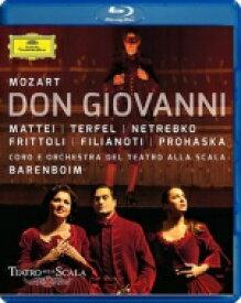 Mozart モーツァルト / 『ドン・ジョヴァンニ』全曲 カーセン演出、バレンボイム&スカラ座、マッティ、ネトレプコ、他(2011 ステレオ) 【BLU-RAY DISC】