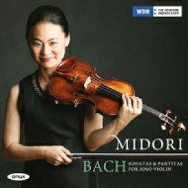 【送料無料】 Bach, Johann Sebastian バッハ / 無伴奏ヴァイオリンのためのソナタとパルティータ全曲 五嶋みどり(2CD 日本語解説付) 【CD】