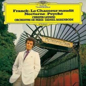 Franck フランク / 交響詩『呪われた狩人』、夜想曲、交響詩『プシシェ』 バレンボイム&パリ管、C.ルートヴィヒ 【SHM-CD】