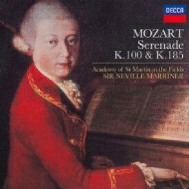 Mozart モーツァルト / セレナード第1番、第3番 マリナー&アカデミー室内管弦楽団 【CD】