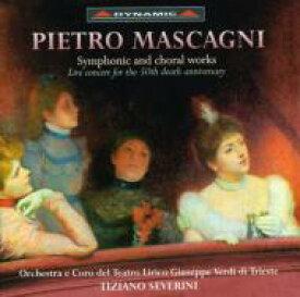 Mascagni マスカーニ / Orch. & Choral Works From Opera: Severini / Trieste Verdi Opera.o 輸入盤 【CD】
