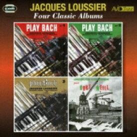 Jacques Loussier ジャックルーシェ / 4 Classic Albums 輸入盤 【CD】