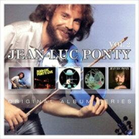 【送料無料】 Jean-Luc Ponty ジャンリュックポンティ / Original Album Series Box Set Vol.2 (5CD) 輸入盤 【CD】