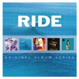 【送料無料】 Ride ライド / 5CD Original Album Series Box Set (5CD) 輸入盤 【CD】