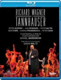 Wagner ワーグナー / 『タンホイザー』全曲 サシャ・ヴァルツ演出、バレンボイム&シュターツカペレ・ベルリン、ザイフェルト、マッティ、他(2014 ステレオ) 【BLU-RAY DISC】