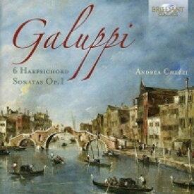 ガルッピ(1706-1785) / 6つのチェンバロ・ソナタ アンドレア・ケッツィ 輸入盤 【CD】