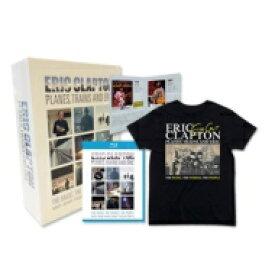 【送料無料】 Eric Clapton エリッククラプトン / Planes, Trains And Eric 【新デザインTシャツ付き<サイズ:L (日本サイズ)>限定盤】 【BLU-RAY DISC】