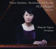 【送料無料】 Mozart モーツァルト / ピアノ・ソナタ第11番『トルコ行進曲付き』、第1番、他 江黒真弓(フォルテピアノ) 輸入盤 【CD】