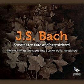 【送料無料】 Bach, Johann Sebastian バッハ / フルート・ソナタ集、パルティータ第6番 トロファ(フラウト=トラヴェルソ)、ウォルフス(チェンバロ) 輸入盤 【CD】