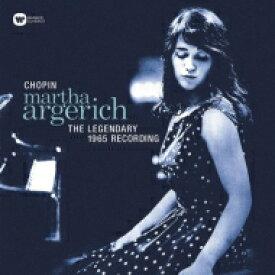 Chopin ショパン / 幻のショパン・レコーディング 1965:マルタ・アルゲリッチ(ピアノ) (アナログレコード / Warner Classics) 【LP】