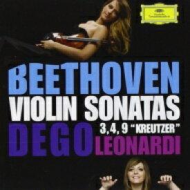 【送料無料】 Beethoven ベートーヴェン / ヴァイオリン・ソナタ第9番『クロイツェル』、第3番、第4番 フランチェスカ・デゴ、フランチェスカ・レオナルディ 輸入盤 【CD】