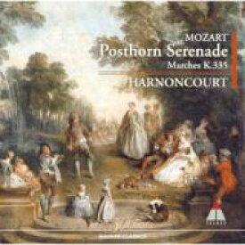Mozart モーツァルト / Serenade.9: Harnoncourt / Skd 【CD】