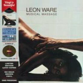 Leon Ware リオンウェア / Musical Massage (カラーヴァイナル仕様 / 180グラム重量盤レコード / LMLR) 【LP】