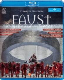 Gounod グノー / 『ファウスト』全曲 ポーダ演出、ノセダ&トリノ・レッジョ劇場、カストロノーヴォ、アブドラザコフ、他(2015 ステレオ)(日本語字幕付) 【BLU-RAY DISC】