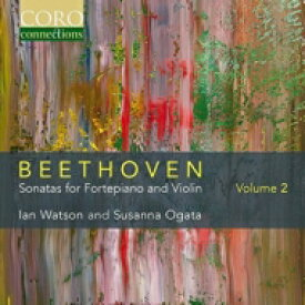 【送料無料】 Beethoven ベートーヴェン / ヴァイオリン・ソナタ第5番『春』、第10番 スザンナ・オガタ、イアン・ワトソン 輸入盤 【CD】