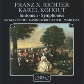 リヒター、フランツ・クサヴァー(1709-1789) / Symphonies: Warchal / Slovak Co +kohaut 【LP】
