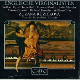 English Virginal Music: Ruzickova(Virginal) 【LP】