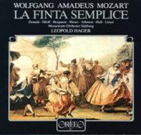 【送料無料】 Mozart モーツァルト / La Finta Semplice: Hager / Mozarteum O Donath Moser Berganza Holl 【LP】