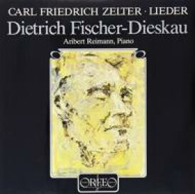Zelter / Lieder: F-dieskau(Br) Reimann(P) 【LP】