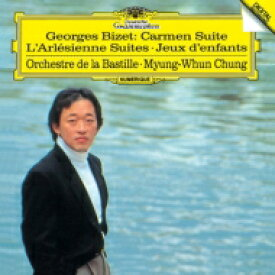 Bizet ビゼー / 『カルメン』組曲、『アルルの女』組曲第1番、第2番、『子供の遊び』 チョン・ミョンフン & パリ・バスティーユ管弦楽団 【SHM-CD】