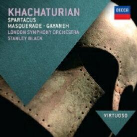 Khachaturian ハチャトゥリアン / 『ガイーヌ』組曲、『スパルタクス』組曲、『仮面舞踏会』組曲 スタンリー・ブラック & ロンドン交響楽団 輸入盤 【CD】