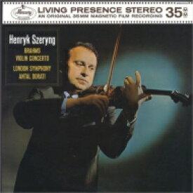 Brahms ブラームス / ヴァイオリン協奏曲:ヘンリク・シェリング(ヴァイオリン)、アンタル・ドラティ指揮&ロンドン交響楽団 (180グラム重量盤レコード) 【LP】