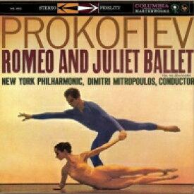 Prokofiev プロコフィエフ / プロコフィエフ: 『ロメオとジュリエット』より、『キージェ中尉』、ムソルグスキー: 禿山の一夜 ディミトリ・ミトロプーロス & ニューヨーク・フィル 【CD】