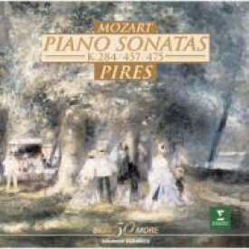 Mozart モーツァルト / Piano Sonatas.6, 14: Pires 【CD】