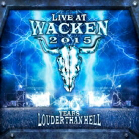 Live At Wacken 2015 - 26 Years Louder Than Hell 【BLU-RAY DISC】