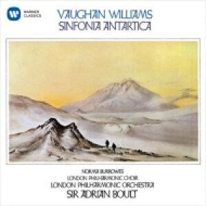 Vaughan-williams ボーンウィリアムズ / 南極交響曲 エードリアン・ボールト & ロンドン・フィル、ノーマ・バロウズ 【CD】