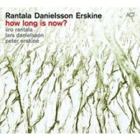 Iiro Rantala / Lars Danielsson / Peter Erskine / How Long Is Now? 【LP】