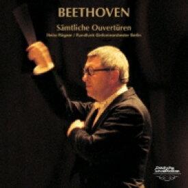 Beethoven ベートーヴェン / Overtures: Rogner / Berlin Rso 【CD】