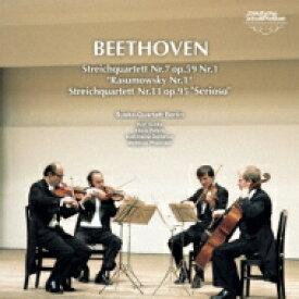 Beethoven ベートーヴェン / String Quartet, 7, 11, : Suske Q 【CD】