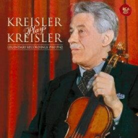 Kreisler クライスラー / Fritz Kreisler Plays Kreisler 【BLU-SPEC CD 2】