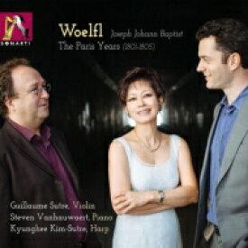 ヴェルフル、ヨーゼフ(1773-1812) / Grand Duos, Violin Sonata, Piano Sonata: Kyunghee Kim-sutre(Hp) Sutre(Vn) Vanhauwaert(P) 輸入盤 【CD】