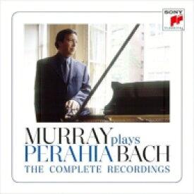 【送料無料】 Bach, Johann Sebastian バッハ / マレイ・ペライア・プレイズ・バッハ〜SONYへのバッハ録音全集(8CD) 輸入盤 【CD】
