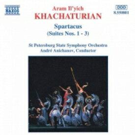 Khachaturian ハチャトゥリアン / スパルタクス 輸入盤 【CD】