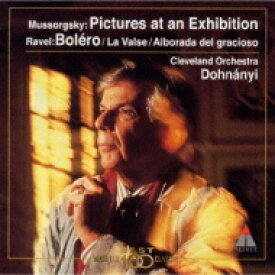 Mussorgsky ムソルグスキー / Pictures At An Exhibition: Dohnanyi / Cleveland.o +bolero, La Valse, Etc 【CD】