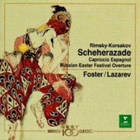 Rimsky-korsakov リムスキー=コルサコフ / Scheherazade: Foster / Monte Carlo Opera.o +capriccio Espagnol, Russian Ea 【CD】