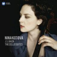 【送料無料】 Bach, Johann Sebastian バッハ / 無伴奏チェロ組曲全曲 ニーナ・コトワ(2CD) 【CD】