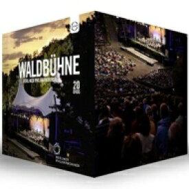【送料無料】 『ヴァルトビューネ・コンサート・ボックス〜20のコンサート1992-2016』 ベルリン・フィルハーモニー管弦楽団(20DVD) 【DVD】