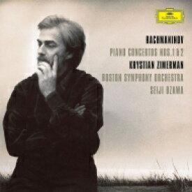 【送料無料】 Rachmaninov ラフマニノフ / ピアノ協奏曲第2番、第1番:クリスティアン・ツィマーマン(ピアノ)、小澤征爾 指揮&ボストン交響楽団 (2枚組 / 180グラム重量盤レコード) 【LP】
