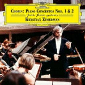 【送料無料】 Chopin ショパン / ピアノ協奏曲第1番、第2番:クリスティアン・ツィマーマン(ピアノ&指揮)&ポーランド祝祭管弦楽団 (2枚組 / 180グラム重量盤レコード) 【LP】