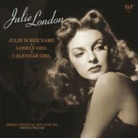 Julie London ジュリーロンドン / Julie Is Her Name / Lonely Girl / Calender Girl (2枚組アナログレコード) 【LP】