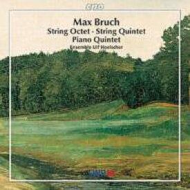 Bruch ブルッフ / 弦楽八重奏曲 / ピアノ五重奏曲 / 他 ウルフ・ヘルシャー・アンサンブル 輸入盤 【CD】