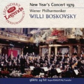 New Year's Concert ニューイヤーコンサート / 1979年 ボスコフスキー&ウィーン・フィル 輸入盤 【CD】